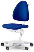 Кресло для школьника Moll Maximo 15 Royal Blue Pure на белом основании