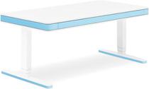 Стол для работы стоя и сидя Moll Unique T7 XL Light Blue  с кабель-менеджментом