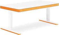 Стол для работы стоя и сидя Moll Unique T7 XL Apricot с кабель-менеджментом