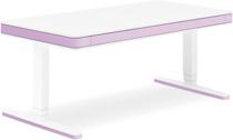 Стол для работы стоя и сидя Moll Unique T7 XL Lilac с кабель-менеджментом
