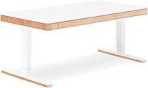 Стол для работы стоя и сидя Moll Unique T7 XL Oak  с кабель-менеджментом