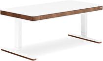 Стол для работы стоя и сидя Moll Unique T7 XL Walnut  с кабель-менеджментом