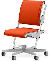 Стул для школьника Moll Scooter Grey (Orange)