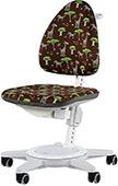 Эргономичный стул для школьника Moll Maximo 15 Safari на белом основании