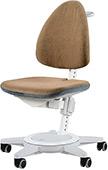 Коричневый стул для школьника Moll Maximo 15 Brown на белом основании