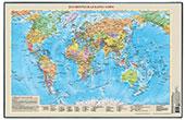 Декоративная подложка на стол  Карта мира