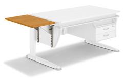 Полка боковая для принтера к столам Moll Moll Basic Printer Top 08 red beech