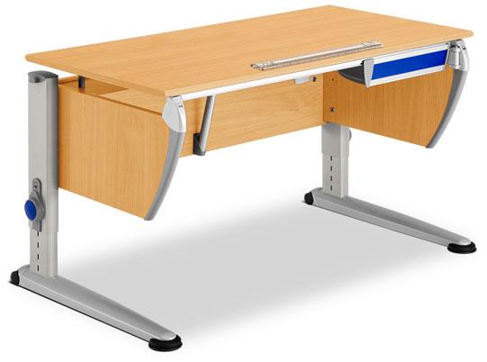 Описание: Продам стол письменный для школьника. . . Стол снабжен тумбой для книг и небольшим ящиком под столешницей