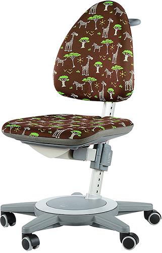 Эргономичный стул для школьника Moll Maximo 15 Safari на сером основании
