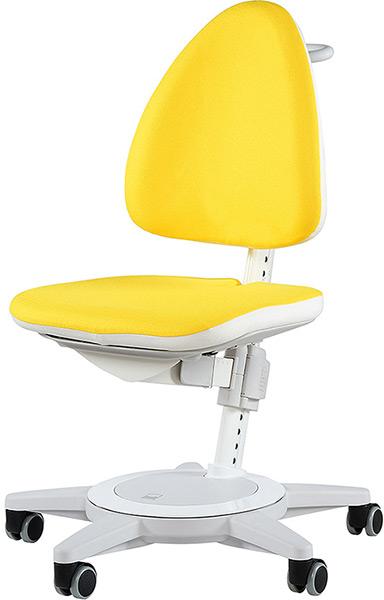 Детский стул Moll Maximo 15 Sun yellow на белом основании