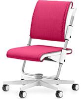 Детский стул Moll Scooter White Pink