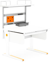 Верхняя полка для Champion Compact Moll Flex Deck Compact White