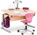 Комплект мебели Moll Winner Classic Beech со стулом Woody S и лампой Mobilight