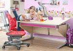 Комплект Moll Winner Comfort Maple со стулом Maximo и лампой Mobilight