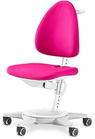 Стул для школьника Moll Maximo 15 Pink на белом основании